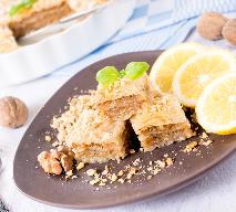 Baklawa - samodzielne przygotowanie tureckich słodyczy