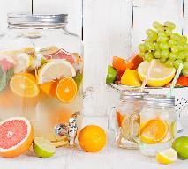 Cytrusowa woda smakowa: idealny napój na upały