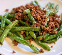 Fasolka szparagowa z mięsem mielonym czyli spaghetti z fasolki