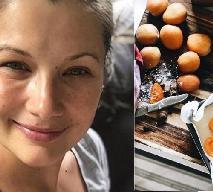 Agnieszka Sienkiewicz po porodzie pokrzepia się ciastem z morelami: zobacz przepis