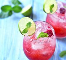 Przepis na drink Raspberry Fizz - idealny na walentynki!