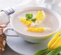 Przepisy na Wielkanoc: zupa chrzanowa