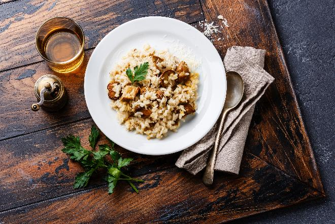 Risotto porcini: ryż z borowikami po włosku