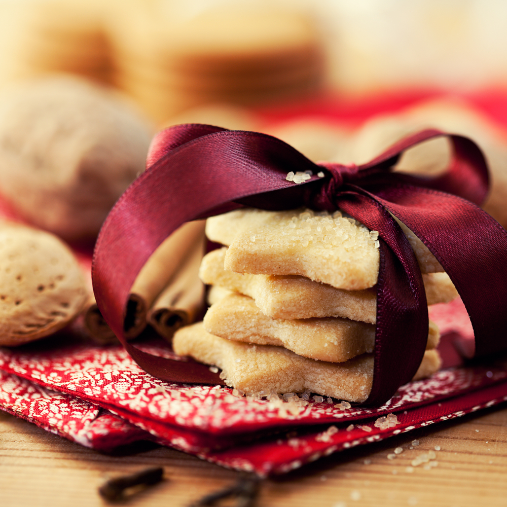 Kruche ciasteczka na święta