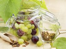 Winogrona marynowane w winnym occie