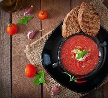 Szybka zupa pomidorowa na serwatce