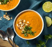 Tajska zupa krem z batatów i marchewki