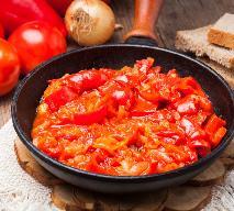 Leczo z fasolką szparagową - przepis na danie do słoika