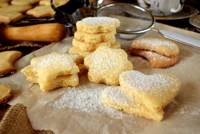 Najpyszniejsze kruche ciasteczka - maślane i chrupiące